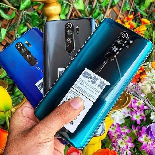 Redmi Note 8 Pro Forest Green 6GB ram 128 GB rom