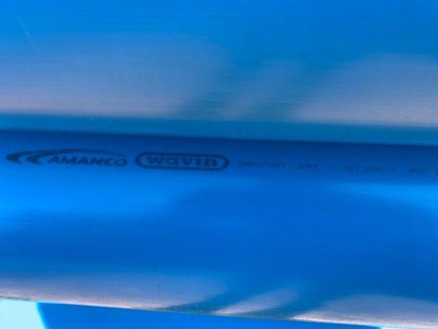 Canos PVC Amanco para Irrigação 200 mm - Foto 5