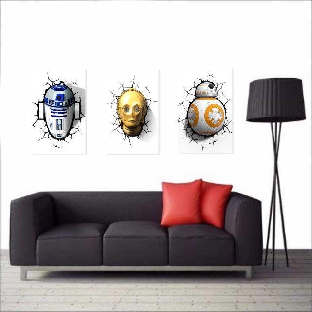 Quadros Decorativos Star Wars - Foto 4