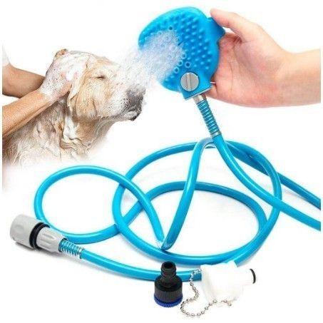 Ducha Massageadora Para Banho Em Cães E Gatos - Produto Novo  - Foto 4