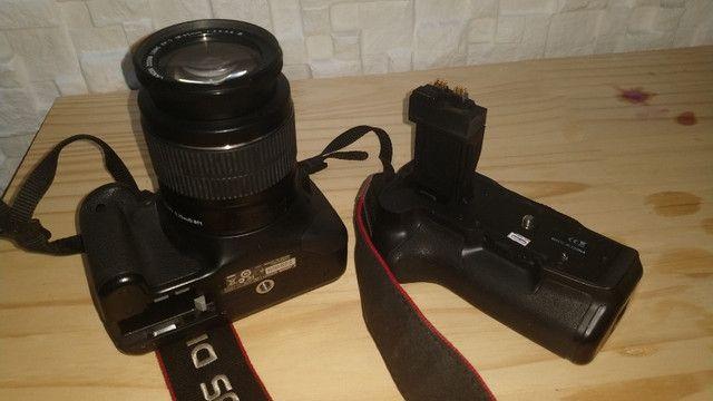 Câmera Profissional Canon EOS Rebel T2i - Usada - Foto 6