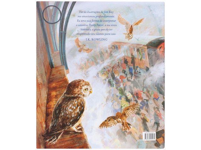 Harry Potter livro ilustrado  - Foto 4