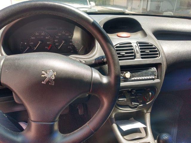 Peugeot 206  ano 2002