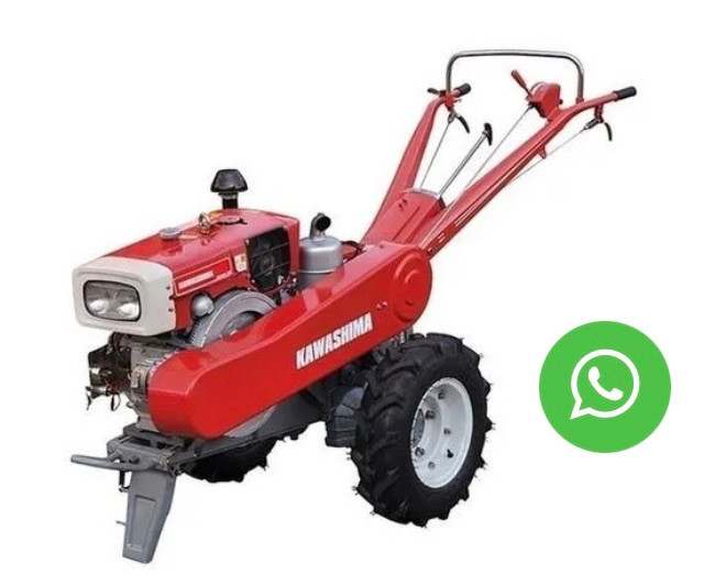 Micro Trator 15 Hp Diesel 4t Partida Elétrica Zt15 Kawashim