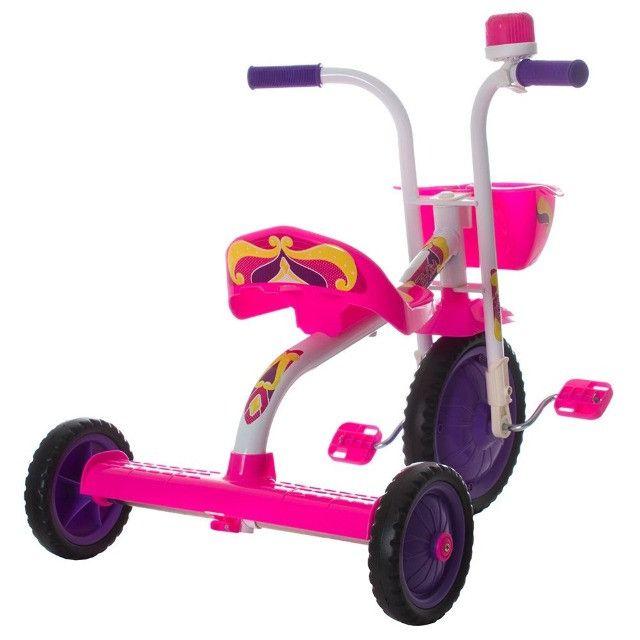 Triciclo Infantil Rosa - Foto 3