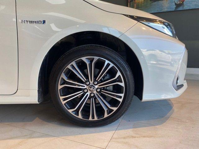 Toyota Corolla Altis 1.8 Hybrid 2020,Configuração Linda,Impecável  - Foto 16