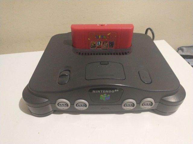 Nintendo 64 com everdrive e expansor pac - Foto 3