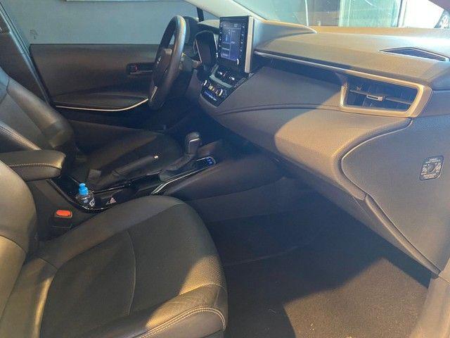 Toyota Corolla Altis 1.8 Hybrid 2020,Configuração Linda,Impecável  - Foto 9