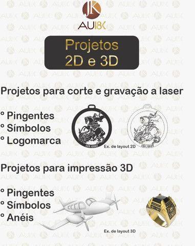 JK Projetos e Gravações no Laser - Foto 3