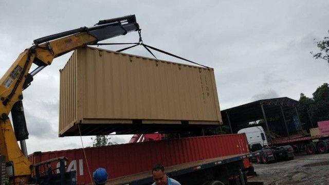 Container padrão 6 e 12 metros