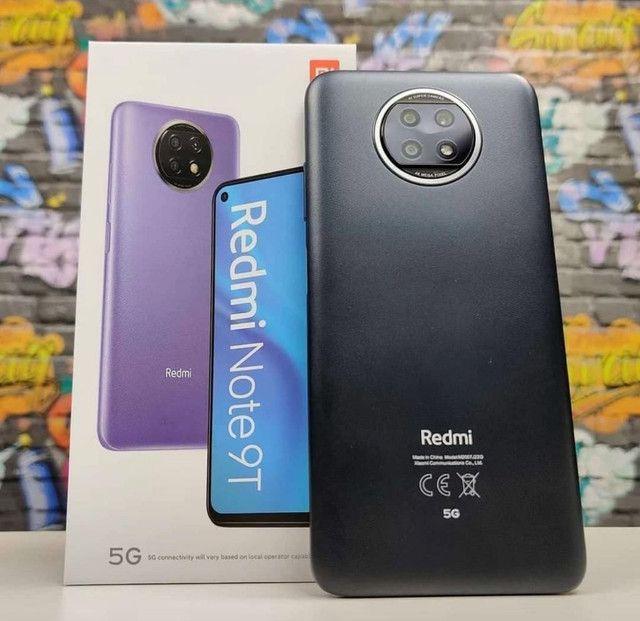 Smart Xiaomi Redmi Note 9 T 128 GB - 4 GB Ram - Original - Foto 2