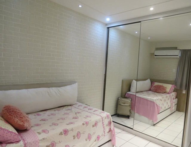 Apartamento três suítes, projetado, andar privilegiado! - Foto 10