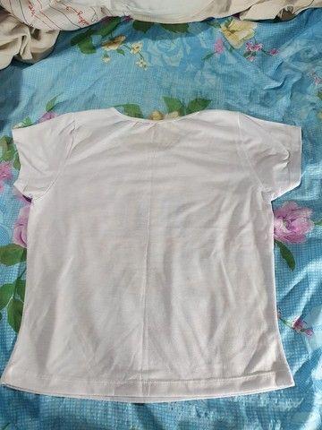 Blusa de malha feminina com estampa de São Luiz do Maranhão - Foto 2
