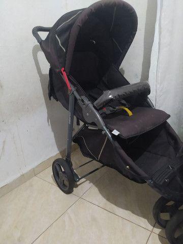 Carrinho galzerano+ bebê conforto