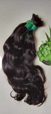 Cabelo natural ondulado 50cm