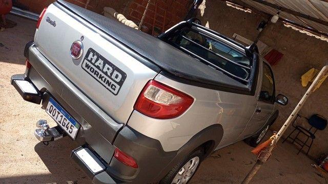 Fiat strada 2018 com ar condicionado e direção hidráulica  - Foto 3