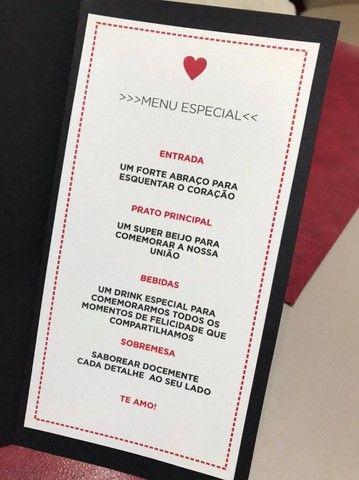Kit Jantar Dia dos Namorados - Foto 5