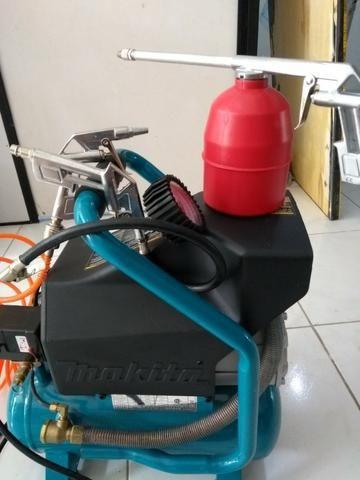 Compressor de ar Makita mac 700 - com acessórios (220v) R$ 1.100,00 - Foto 2