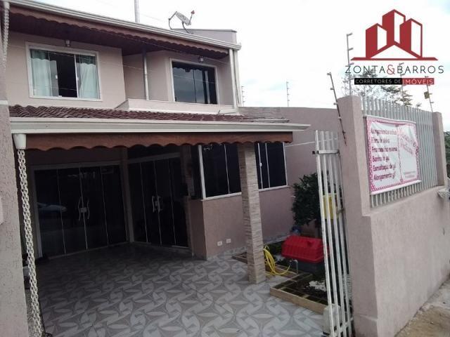 Casa à venda com 3 dormitórios em Santa terezinha, Fazenda rio grande cod:SB00002