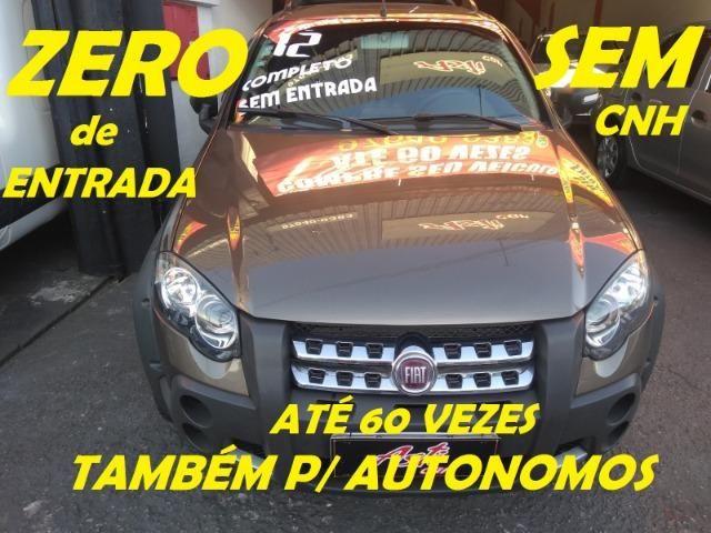 Fiat Strada 2012 Adv.Completa Zero de Entrada