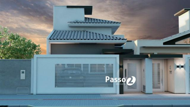 Casa na planta com 01 suite + 2 quartos - Foto 2
