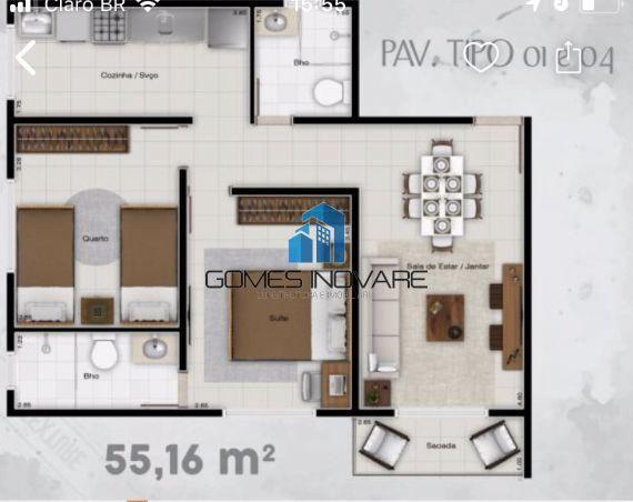 Apartamento à venda com 1 dormitórios em Maguari, Ananindeua cod:24 - Foto 7