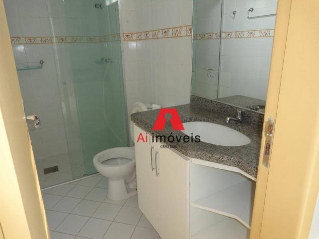 Apartamento com 3 dormitórios para alugar, 82 m² por r$ 1.850,00/mês - 7º bec - rio branco - Foto 16