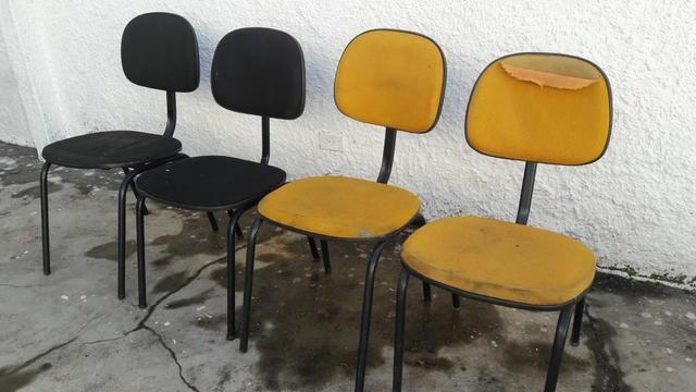 4 cadeiras ( para utilizar somente estrutura )