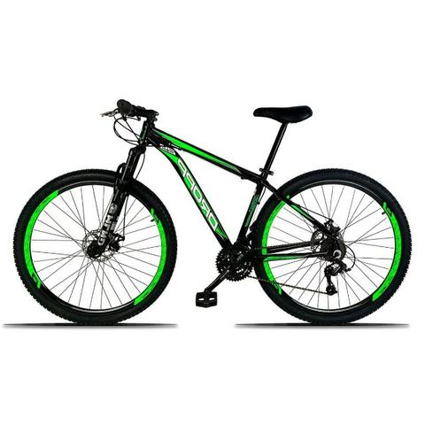 Bicicleta 21 Marchas Alumínio e Freio a Disco - Foto 3