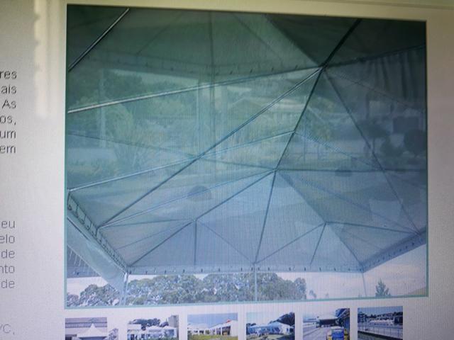 Tenda piramidal 12 por 12 completa com paredes. - Foto 4