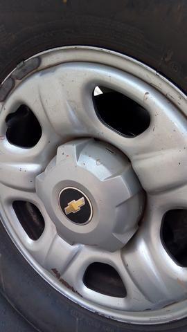 Vendo rodas de aço aro 16 da s10