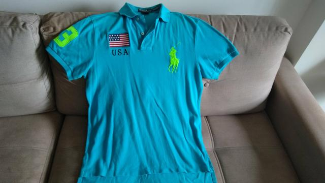 fe49aeb357caf Camisa Polo Ralph Lauren Original - Roupas e calçados - Sul ...