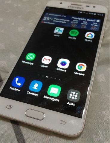 d3c2ff86e Smartphone Samsung Galaxy J7 Prime Dourado + Brinde - Celulares e ...
