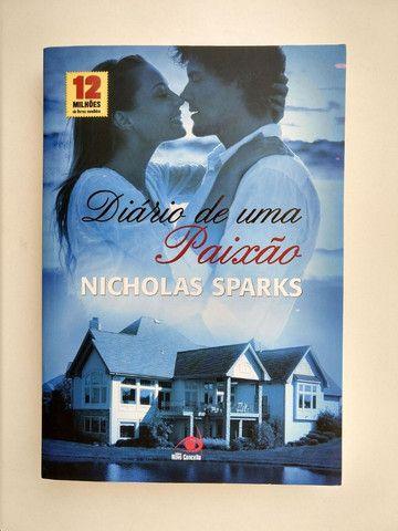 Box com 3 livros Nicholas Sparks