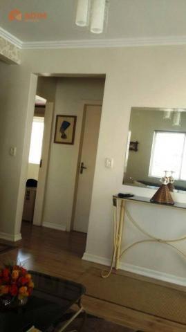 Apartamento 2 dormitórios, mobiliado, 01 vaga privativa no Edifício Spezia, Centro de Baln - Foto 3