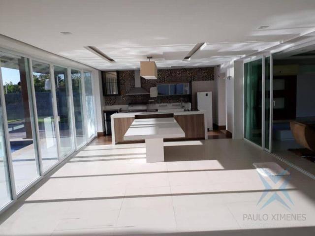 Casa à venda, 550 m² por R$ 2.497.000,00 - Precabura - Eusébio/CE - Foto 15