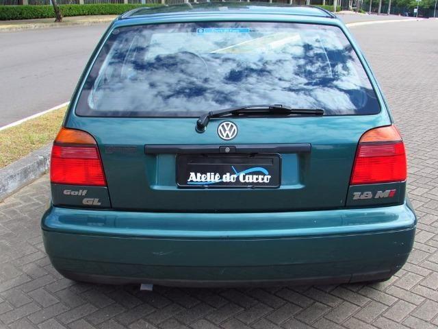 Golf GL 1.8 Mi 1997 45.000 km Originais - Único Dono - Ateliê do Carro - Foto 4