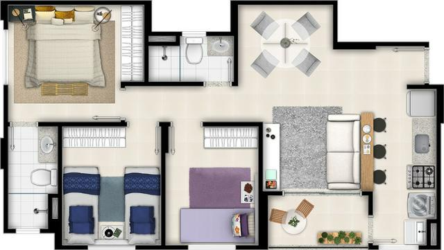 Apartamento 3 qtos 1 suíte setor Vila Rosa - Foto 10