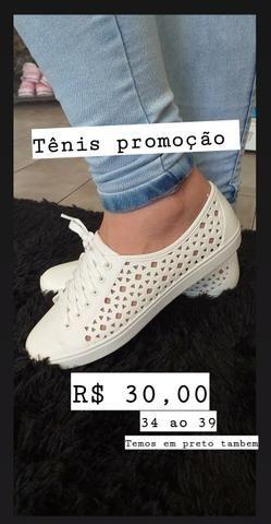 Tênis por apenas 30 reais