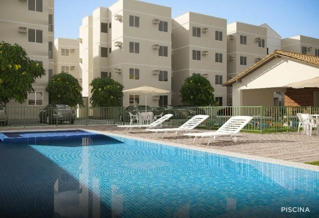 CB Apartamento no Janga com 2 quartos e lazer completo. Subsídio de até R$ 21.000,00