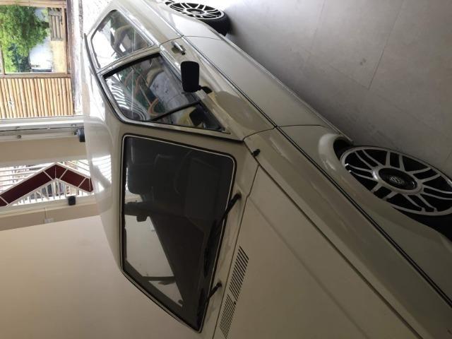 Gol Bx 1982 com rodas aro 17, suspensao fixa legalizada - Foto 5