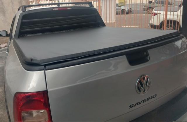 Volkswagen Saveiro Trend 1.6 Estendida Completa - Ano 15/15 Impecavel nova - Foto 6