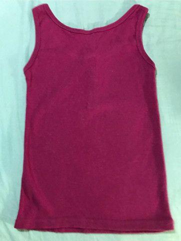 Camiseta de malha canelada feminina  - Foto 2