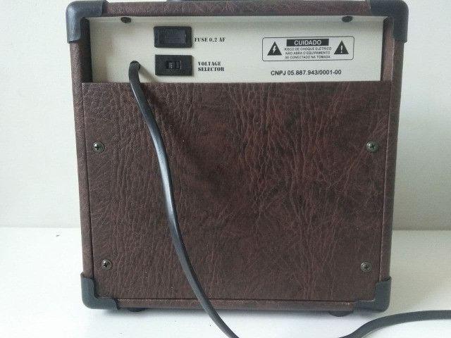 Caixa Amplificador Violão Sheldon Vl2800 15w - Foto 2