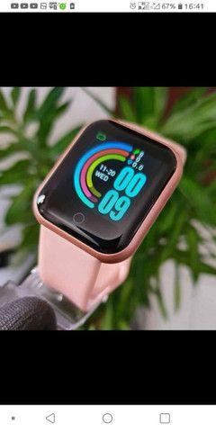 smartwatch y68 com frete grátis pra Rio das ostras e Macaé de segunda a sexta. - Foto 6