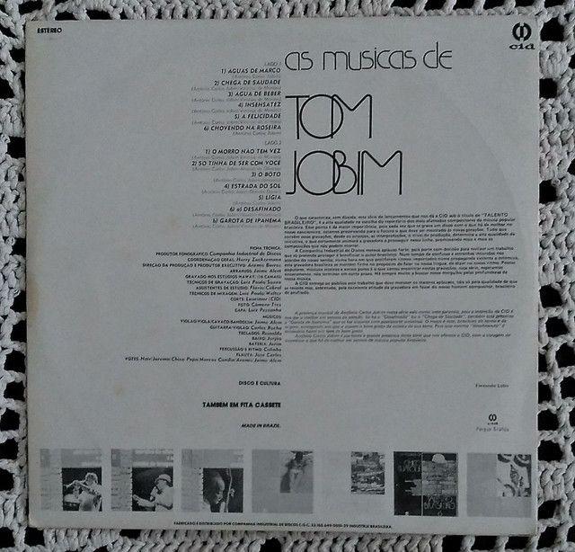 Lp Talendo Brasileiro 4 Tom Jobim disco vinil - Foto 3