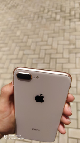 iPhone 8 plus 64gb Gold vitrine Pronta entrega - Foto 5