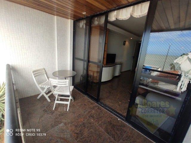 Manaíra, Mobiliado, 4 quartos, 120m², R$ 3.200, Aluguel, Apartamento, João Pessoa - Foto 3