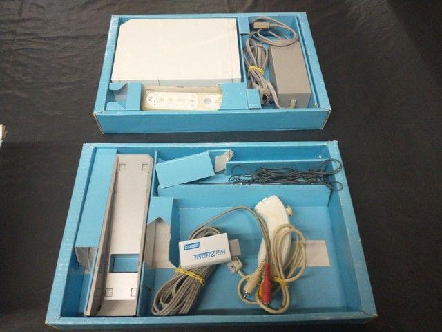 Nintendo Wii completo na caixa  - Foto 3