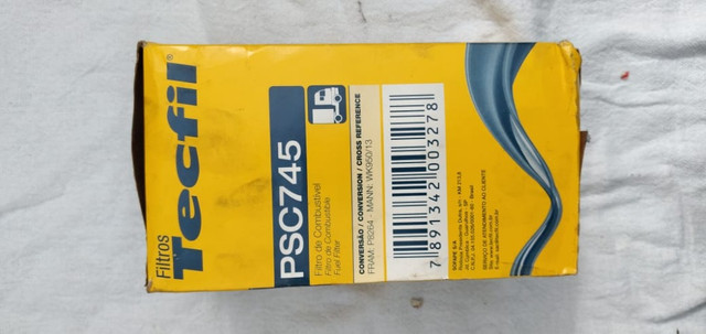 Filtro De Combustivel Tecfil Psc 745